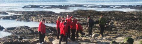 Students Aran Island